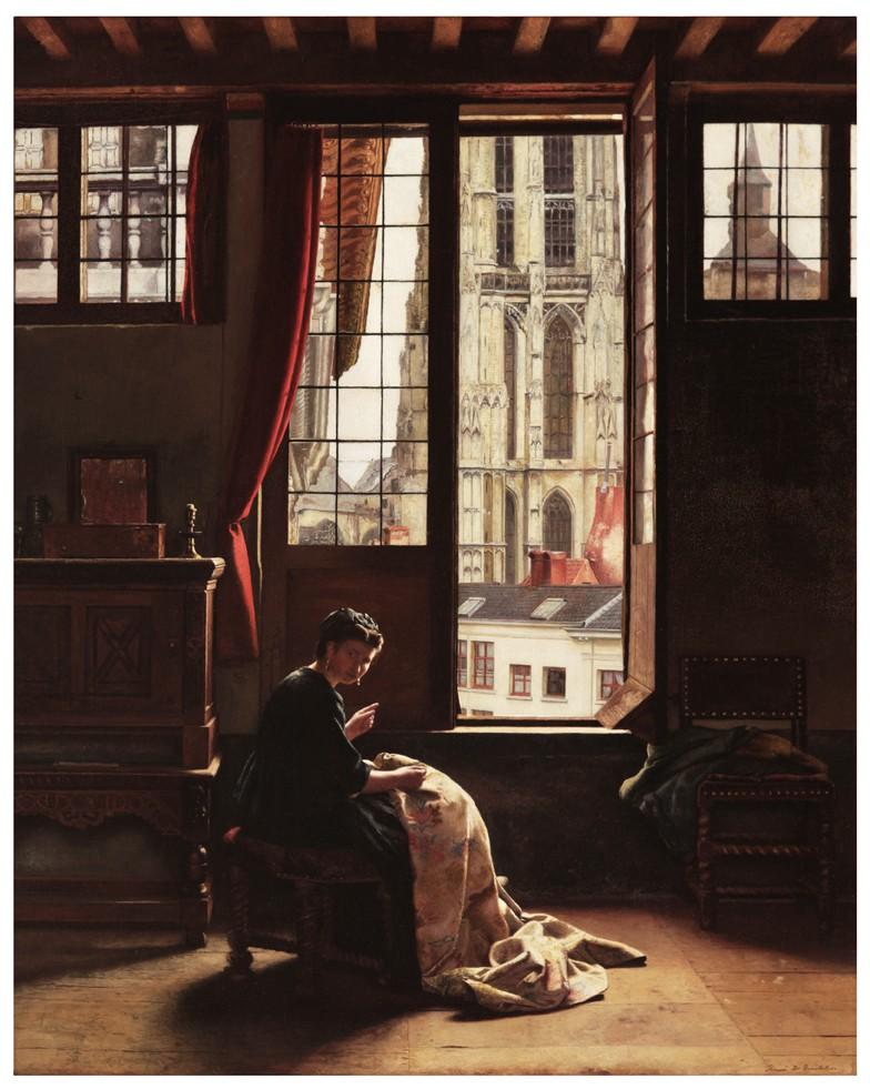 """Résultat de recherche d'images pour """"""""L'Atelier"""" (1873) henri de braekeleer photos"""""""
